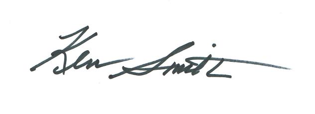 ken smith's signature